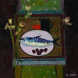 Fish & Poppy Heads