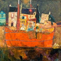 Red Scallop Boat