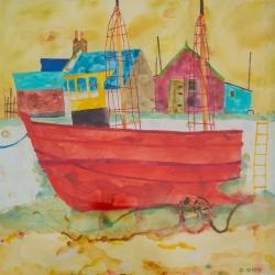 Gaff Rigged Trawler