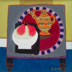 Camel Teapot and Pears