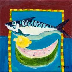 Fish, Melon & Lemon