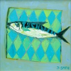 Fish with Diamond Napkin